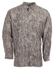 Heybo The Outfitter Shirt L/S - Mossy Oak Bottomland - 812407021898