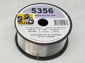Aluminium 5356, 1.0mm, 0.5Kg