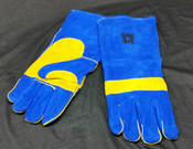 Gloves, Kevlar Blue
