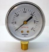 Gauge, LPG Low Pressure, 1/4 NPT