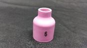 Stubby Gas Lens Nozzle, #6