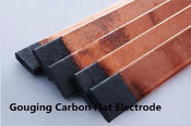 Flat Gouging Carbon, 15 x 5mm, Pkt 50