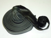Cable Cover, Part Leather, 40mm X 3.8 Metre