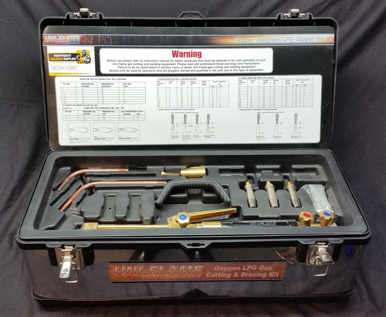 Gas Braze, Heat and Cut Kit - WeldPlus