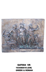 Greco-Roman Wall Relief - SALE! - Take an Extra 25% Off - Discount Applied at Checkout