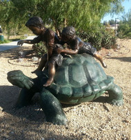 2 Kids on a Tortoise