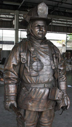 Custom-made Monumental Firefighter - Made with Your Name and Specifications