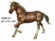 Small Horse with Polished Accents