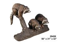 3 Raccoons Fountain