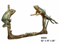2 Frogs on a Branch