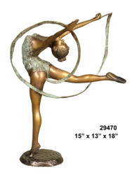 Female Dancer - Style NA - with Marble Base (not shown)