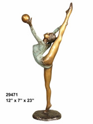 Female Dancer - Style NB - with Marble Base (not shown)