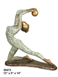 Female Dancer - Style D - with Marble Base (not shown)