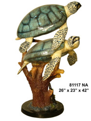 Pair of Sea Turtles - Special Patina, Style NA