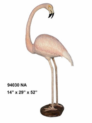 Flamingo Looking Back- Special Patina, Style NA