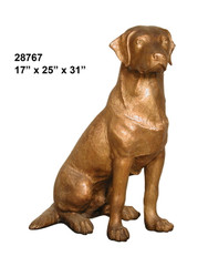 Golden Labrador, Sitting- SALE! - Take an Extra 25% Off - Discount Applied at Checkout