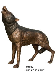 Howling Wolf (on all fours)