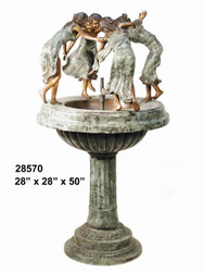 Dancing Ladies Recirculating Fountain