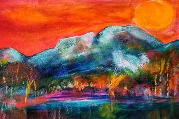 dIANKA firesky Longs Peak
