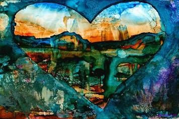 dIANKA Heart of the Rockies-blue