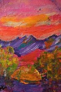 dIANKA Red Mountain Sky