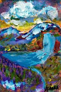 dIANKA rocky mountain water fall