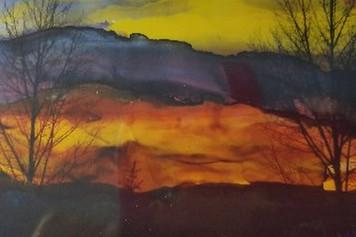 dIANKA Rocky mountain sunset
