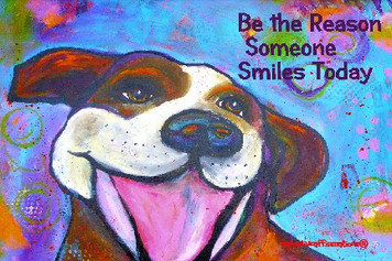 (H) Pitbull(multicolor)- Be the reason someone smiles today