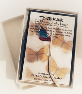 Morpho Peleides bookmark