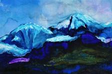 Rocky Mountains by Margit Sokol