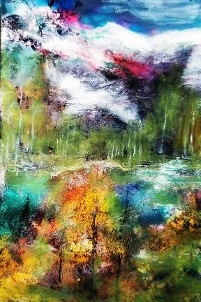 Rockies in abstraction-margit sokol