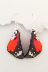 Queen Monarch Butterfly Earrings