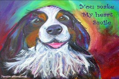 Bernese-You make my heart smile