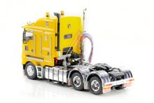1:50 diecast scale model of Kenworth K200 - Chrome Yellow