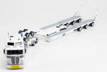 1:50 diecast scale model of Kenworth K200 with Drake 2x8 Dolly & Drake 3x8 Swingwing Low Loader-Link Low Loaders