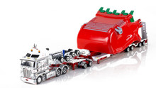 1:50 diecast scale model of Kenworth K200 with Drake 2x8 Dolly and Drake 4x8 Bucket Trailer-Betts Bower Group