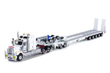 KENWORTH C509, 2X8 DOLLY AND 5X8 SWINGWING White