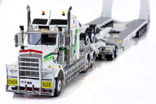 KENWORTH C509, 2X8 DOLLY AND 5X8 SWINGWING HHH