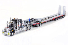 KENWORTH C509, 2X8 DOLLY AND 5X8 SWINGWING NHH