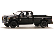 Ford F250 Pickup Truck w/Super Cab & 8ft Bed - Black/Black