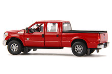 Ford F250 Pickup Truck w/Crew Cab & 6ft Bed -Red/Chrome