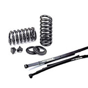 "HOTCHKIS PERFORMANCE 1939F 1.50"" FRONT COIL SPRINGS AND HOTCHKIS PERFORMANCE 2412 REAR LEAF SPRINGS 2.5"" (LOWERING KIT) 99-04 FORD F150 SVT LIGHTNING 02-03 HARLEY DAVIDSON"