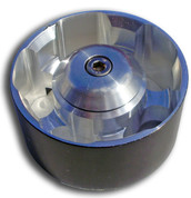 Aluminum DOUBLE BEARING Idler PulleyKit Includes: LFP DOUBLE BEARING 10 Rib Idler Pulley Billet CNC Machined Dust Cover !Please Note! Idler Pulleys are 10 Rib, not 8. This helps distribute pressure from belt tension which results in longer bearing life.