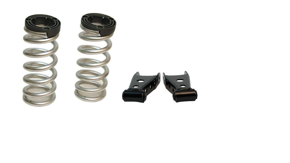 """Belltech 6400 Lowering Shackle Kit 2/"""" Rear Drop"""