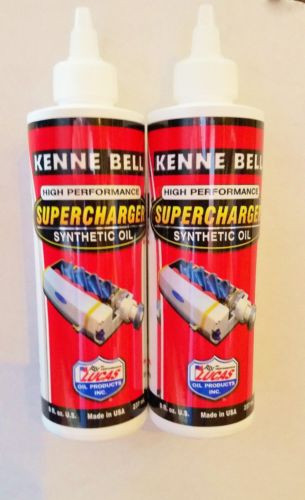 KENNE BELL SUPERCHARGER Oil 2 BOTTLES 8oz