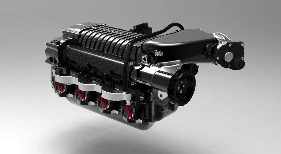 Whipple 2 9L Ford SVT F-150 Raptor 6 2L Supercharger WK-200355B (Tuner) Kit