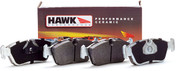 HAWK Ceramic Brake Pads 2007-10 FORD Shelby GT500 (Rear)