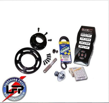 LFP Stage 1 SCT X4 7015 Power Package 6 PSI 1999-2004 Ford SVT F-150 Lightning 6 # Pulley with MAF 2600 (Stage1powerpkg6) (STAGE1POWERPKG6/2600