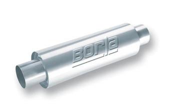 BORLA UNIVERSAL ROUND XR-1 SPORTSMAN RACING MUFFLER-FREE SHIPPING 40085 (40085)