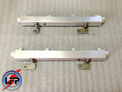 LFP LFBFR9904 BILLET ALUMINUM 99-04 FORD SVT LIGHTNING HIGH FLOW FUEL RAILS 2002-03 F150 HARLEY PICKUP SUPERCHARGED
